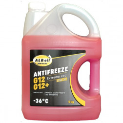 ALB10295 ANTIFRIZAS ALB ANTIFREEZE-36 RED 5KG