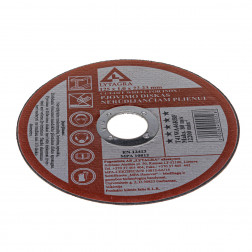 47212510 Metalp pjov.diskas 125x1.0x22.24 / Lytagr