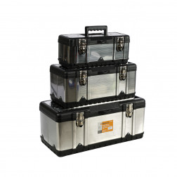 90102001 Dėžutės įrankiams 3 vnt. (Stainless S+PP)