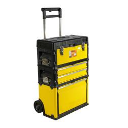 90200001 Dėžė ant ratukų įrankiams (4 dalių) /REAL