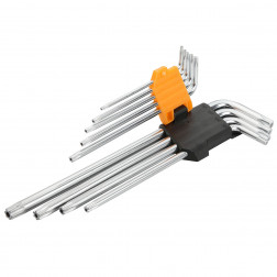 Šešiakampių raktų kompl. 9vnt. T10-T50 20057(prail