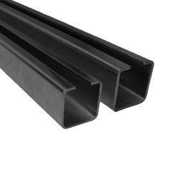 Profilis vartų ratukams PROF 50x50mm ,L5m, ZABl