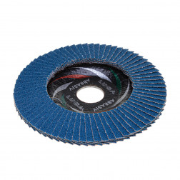 Žiedl. šlif. diskas KLT-2 125x22.23 ZK 60 (ZIRCON)