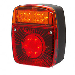 Daugiafunkcinis galinis LED žibintas W18ud 476