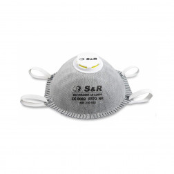 Respiratorius su vožtuvu S&R 601210102, 10vnt.