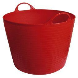 Elastinės plastmasės kibiras 28 L