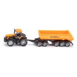 Modeliukas traktorius su išverčiama priekaba JCB