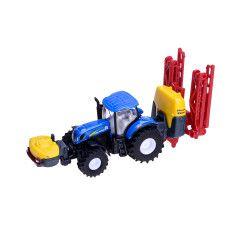 Modeliukas traktorius su purkštuvu