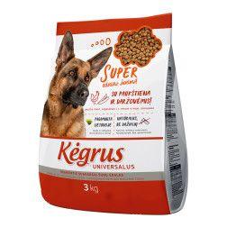 Kėgrus universalus ėdalas šunims 3 kg