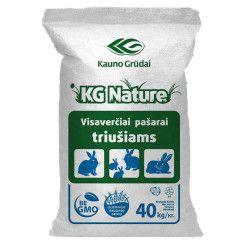 Kombinuoti pašarai triušiams KG Nature (be GMO)