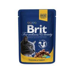 Brit premium kačių ėdalas su vištiena ir kalakutiena