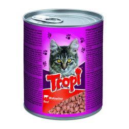 Tropi kačių ėdalas su jautienos gabaliukais padaže