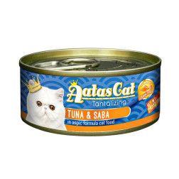 Super premium konservai katėms su tunu ir skumbre