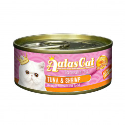 Super premium konservai katėms su tunu ir krevetėmis