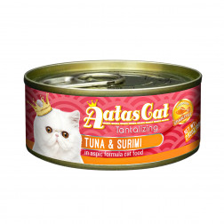 Super premium konservai katėms su tunu ir krabų lazdelėmis