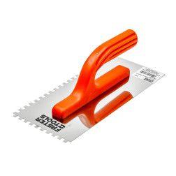 Glaistyklė nerūdijančio plieno dantyta Faster Tools 092, 130x280mm