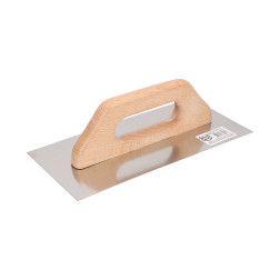 Glaistyklė nerūdijančio plieno dantyta Faster Tools 096, 130x480mm