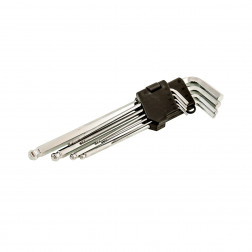 Šešiakampių raktų rinkinys Faster Tools 1121, 9vnt.
