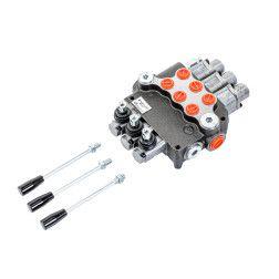 3P80L12L12L12GKZ1 Hidraulinis paskirstytojas 3-jų sekc. (visos plaukiojančios) 80 ltr/min.