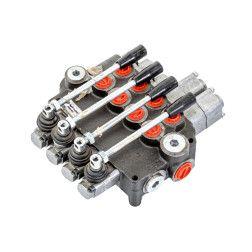 4P80A1A1L12L12GKZ1 Hidraulinis paskirstytojas 4-ių sekc. (2-vi plaukiojančios) 80 ltr/min.