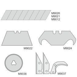 Atsarginės gelęžtės Dedra M9021 18mm x 10 vnt