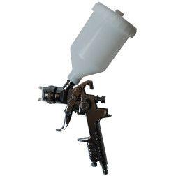 Dažų pistoletas Dedra A533171 HVLP, purkštukas 1,4mm, talpa 600ml, 2,5-3,5 bar