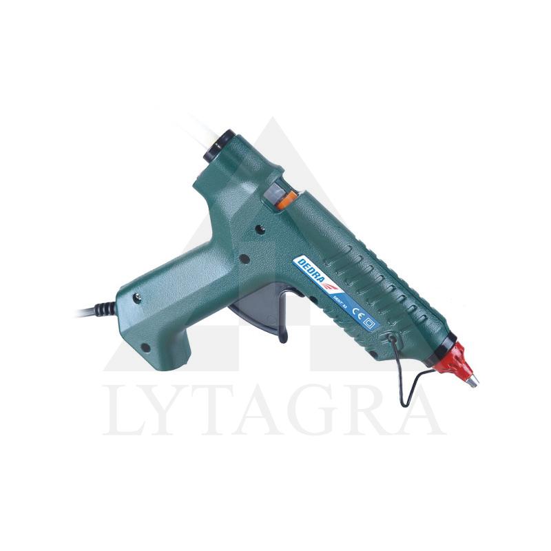 Klijų pistoletas Dedra DED7552 15-80W skr.kliju 11,2mm