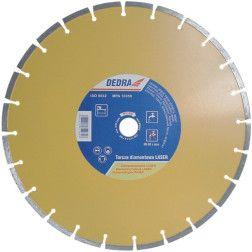 """Diskas deimantinis """"LASER"""" Dedra H1160 350x25.4mm"""