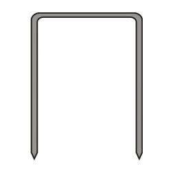 Segtukai metaliniai Dedra A536216 16mm 12,80mm TYPE80 5000vnt
