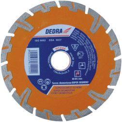 Deimantinis diskas Dedra H1247 Super sausam/šlapiam pjovimui
