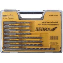Grąžtų rinkinys Dedra 0704 5 vnt. 5,6xmm  2x8x110, 6,8,10x160  10x210