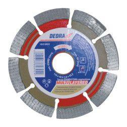 Deimantinis diskas Dedra H1093 125x1.4x22.2 šlapiam pjovimui