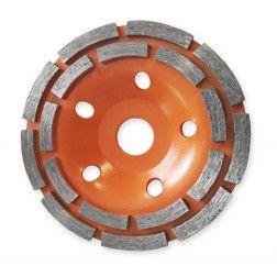 Diskas šlifavimui deim. Dedra HP041 125mm/ 2-seg.