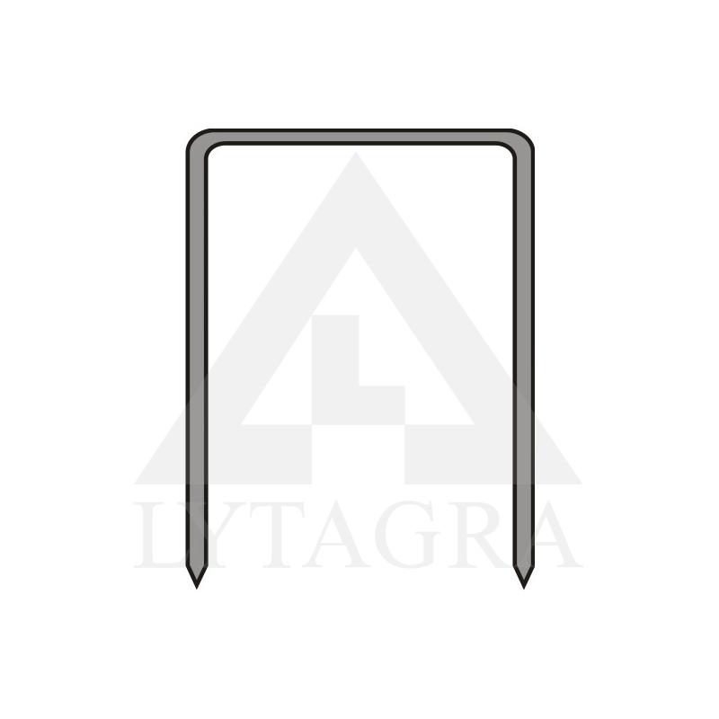 Segtukai metaliniai Dedra A536212 12mm 12,80mm TYPE80