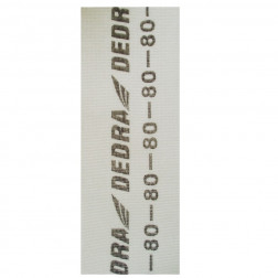Tinklelis šlifavimui gipso Dedra 1541-080 baltas 105X280mm GR.80