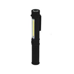 Žibintuvėlis Dedra L1004 1.5W COB LED + 1WLED, pen, su elementais
