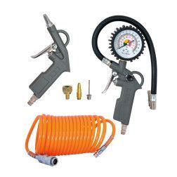 Pneumatinių įrankių rinkinys Airpress 4300027 6 vnt