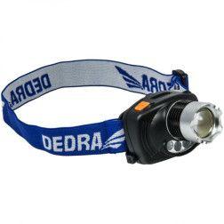Žibintuvėlis ant galvos Dedra L1010 3W LED