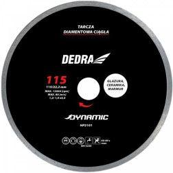 Deimantinis diskas keramikai, akmeniui Dedra HP2101 115x22,2mm