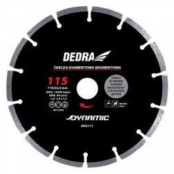 Segmentinis diskas betonui Dedra HP2111 115x22,2mm