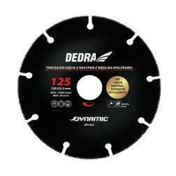 Pjovimo diskas medienai, plastikui Dedra HR1006, 230mm
