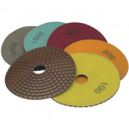 Deimantinis poliravimo diskas Dedra H12G0400 125mm