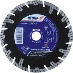 Deimantinis diskas Dedra H1192 TURBO 115x22,2mm