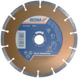 Deimantinis diskas Dedra H1106 sausam/šlapiam pjovimui 115x22,2mm