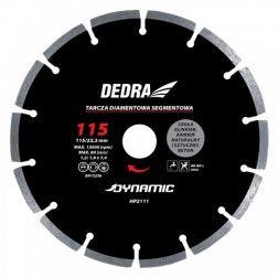 Segmentinis diskas betonui Dedra HP2116 230x22,2mm