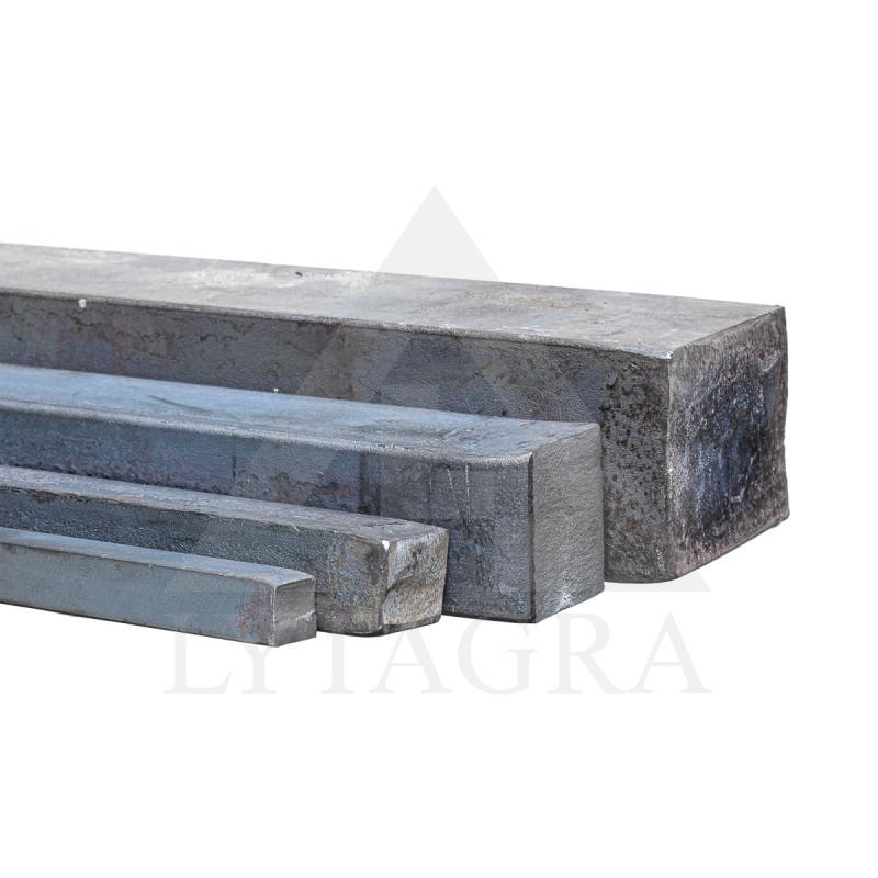 KVADRATAS 25X25 mm  S235