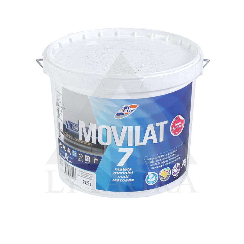 DISPER VAND DAŽAI MOVILAT-7(A) 3.6L MATINIAI