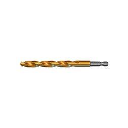 Kobaltinis grąžtas metalui AB Grąžtai, D6.00 DIN338 HSSCo Ti 5%