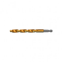 Kobaltinis grąžtas metalui AB Grąžtai, D6.50 DIN338 HSSCo Ti 5%