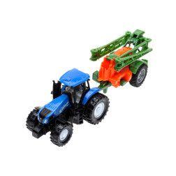 Modeliukas traktorius su purkštuvu NEW HOLLAND